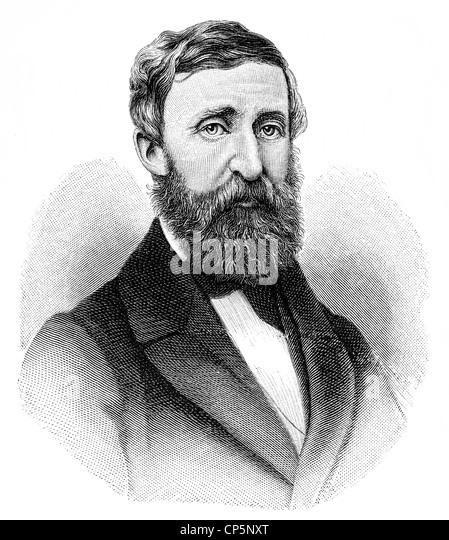 The biography of henry david thoreau 1917 1862