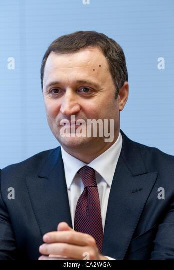 Vlad Filat, Prime Minister of Moldova - Stock Image