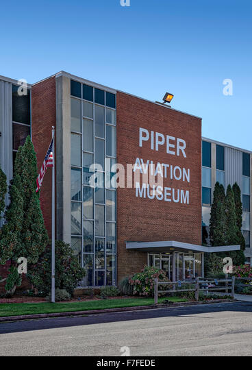 Piper Aviation Museum, Lock Haven, Pennsylvania, USA - Stock Image
