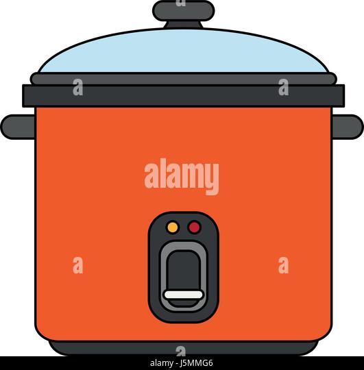 Cartoon Electric Cooker ~ Electric cooker stock photos