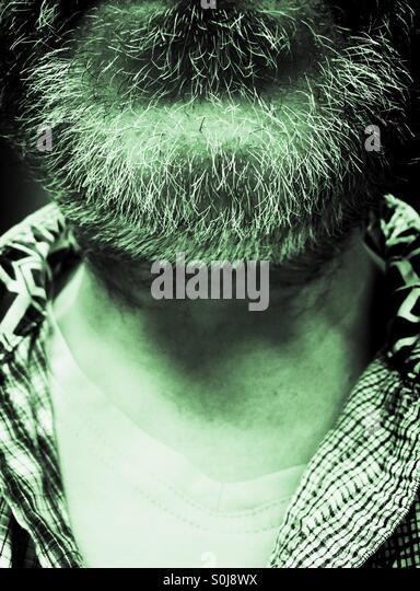 Hairy Chin - Stock-Bilder