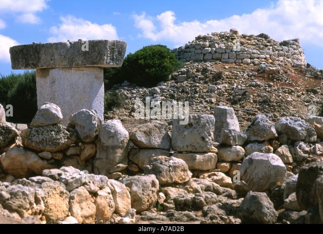 Spain Menorca Torralba - Stock Image