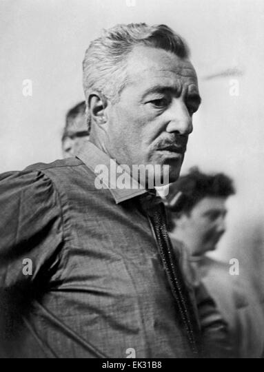 Italy. Film director Vittorio De Sica. Reproduction. - Stock Image