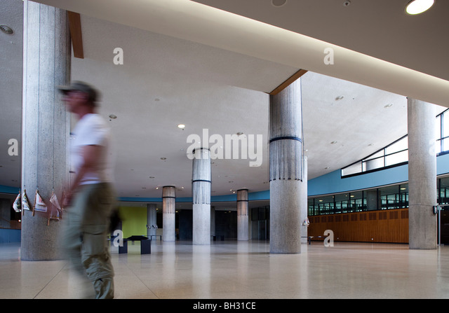 Interior of the House of World Cultures, Berlin, Germany - Stock-Bilder