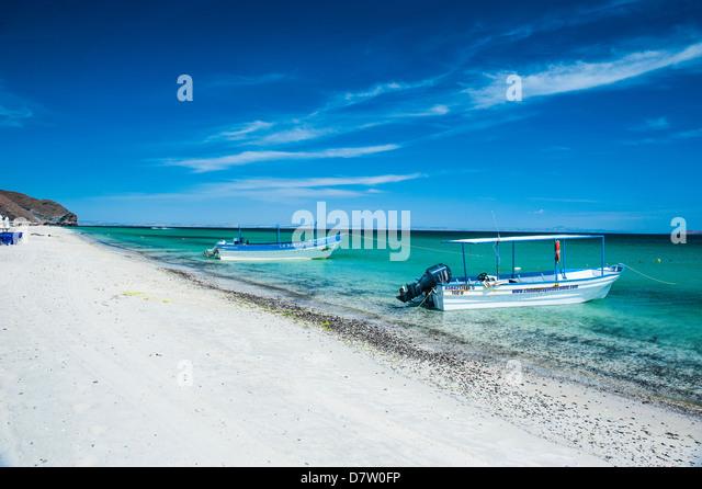 Playa Tecolote, Baja California, Mexico - Stock Image