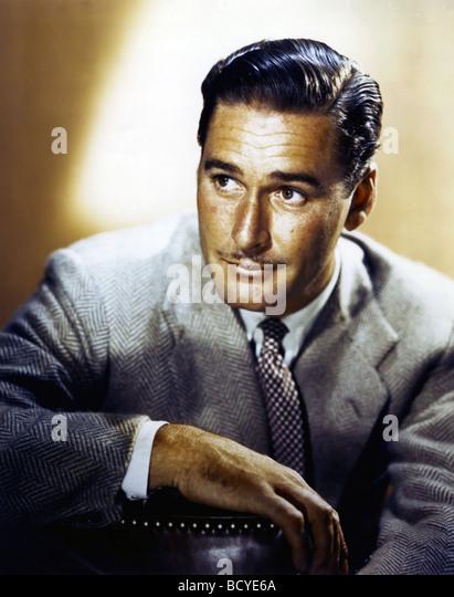 Errol Flynn American actor - Stock-Bilder
