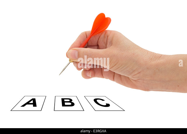 Choice, decision. - Stock Image