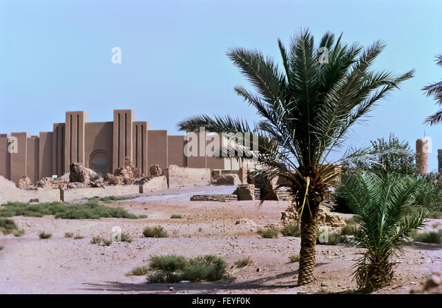 AA 6827. Archival 1960s, Babylon ruins, Iraq - Stock-Bilder