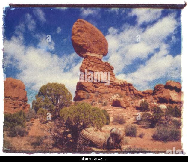 Arches National Park Utah USA - Stock Image