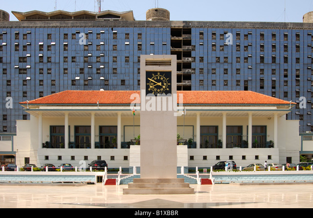 State House, Accra, Ghana - Stock Image
