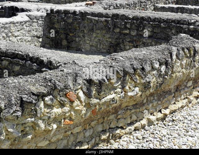 Andautonia,ancient Roman settlement,1-5th c,Croatia,38 - Stock Image