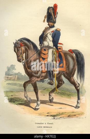 Napoleon painting horse stock photos napoleon painting for Napoleon horse painting