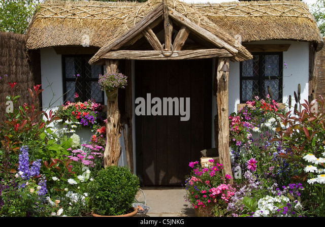 Thatched cottage door stock photos thatched cottage door for Cottage back door