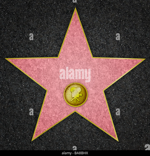 Hollywood Star Film - Stock Image