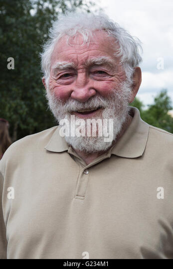 London, UK. 23 May 2016. David Bellamy. Press day at the RHS Chelsea Flower Show. The 2016 show is open to the public - Stock-Bilder