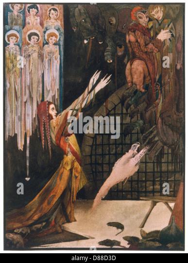 Margarete In Prison - Stock Image