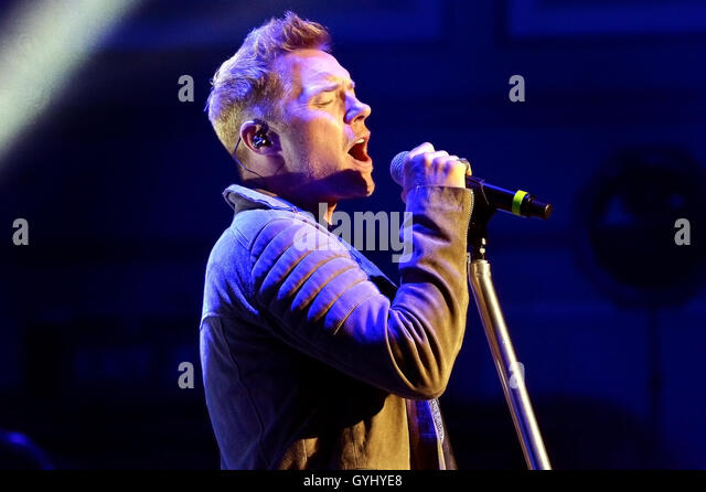 Ronan Keating Time of My Life Tour at Newcastle City Hall, Newcastle Upon Tyne   Wed 14th September 2016 - Stock Image