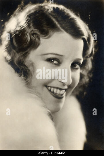 Jeanette MacDonald, Hollywood Movie Star - Stock Image