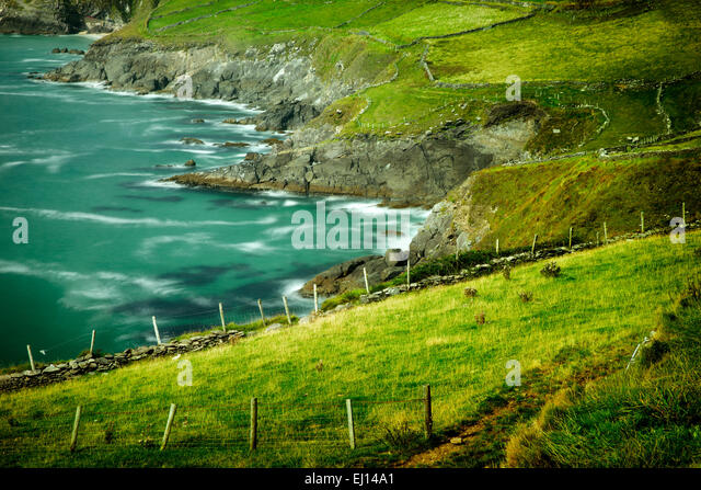 Slea Head. Dingle Peninsula. Ireland - Stock-Bilder