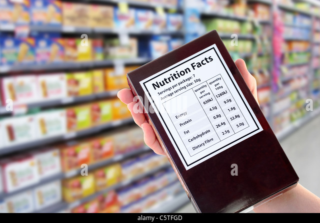 how to read a nutrition information panel