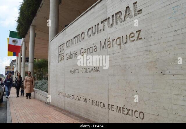 The Centro Cultural Gabriel Garcia Marquez in the La Candelaria district of central Bogota, Colombia - Stock Image