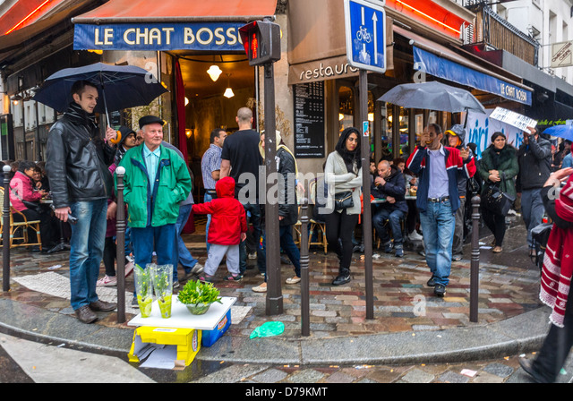Cafe Le Chat Bossu Paris
