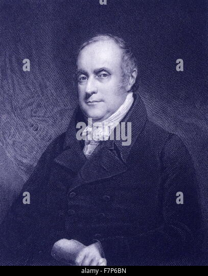 Benjamin Hobhouse - 1757 - 1831 - Stock Image