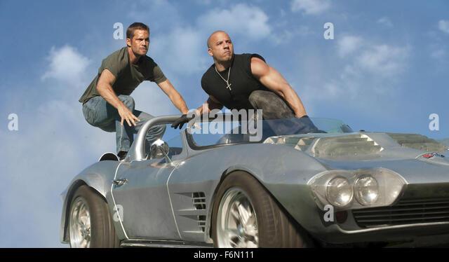 Fast & Furious 5 - PAUL WALKER and Vin Diesel..'Fast & Furious 5' Film - 2011. - Stock Image