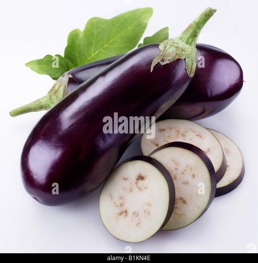 aubergine - Stock Image