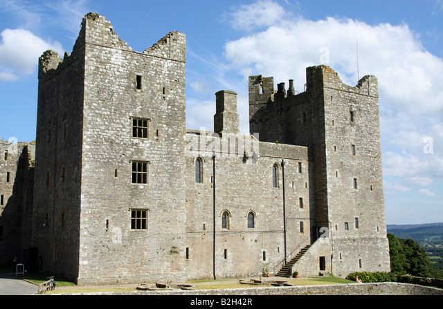 Bolton Castle, Wensleydale, North Yorkshire - Stock Image