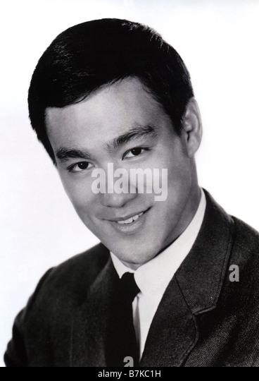 BRUCE LEE  US martial arts actor - Stock-Bilder