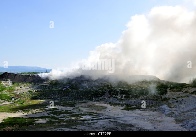 smog, catastrophe, chemistry, - Stock Image
