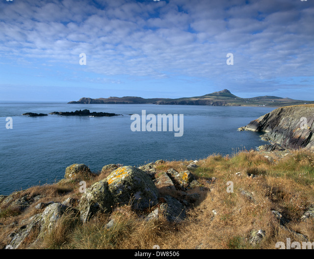 ST DAVID'S HEAD PEMBROKESHIRE COAST NATIONAL PARK WALES UK - Stock-Bilder
