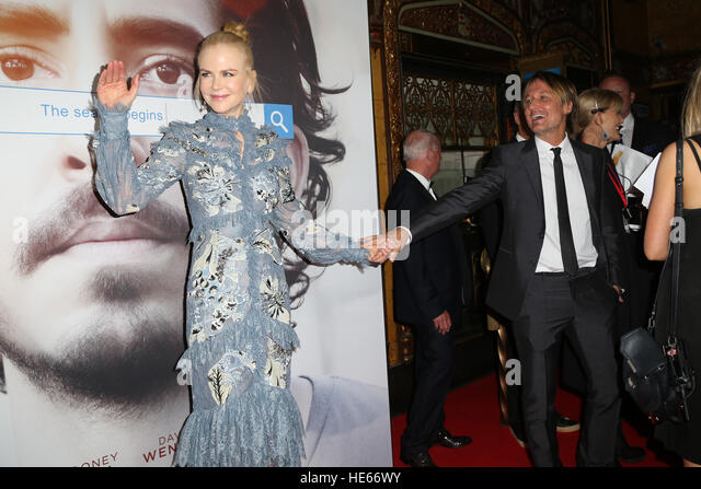 Sydney, Australia. 19 December 2016. Pictured: Nicole Kidman and Keith Urban. The cast and crew of LION arrived - Stock Image