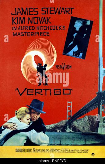 vertigo movie poster stock photos amp vertigo movie poster