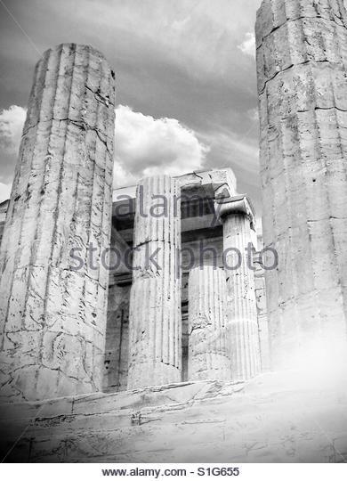 the Acropolis - Stock Image