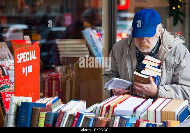 The Strand Bookstore, Manhattan, New York City - Stock Image