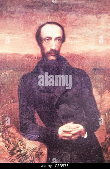 painting of Giuseppe Mazzini - Stock-Bilder