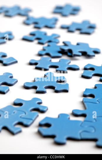 Puzzle pieces - Stock-Bilder