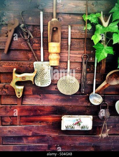 Old tools and utensils - Stock-Bilder