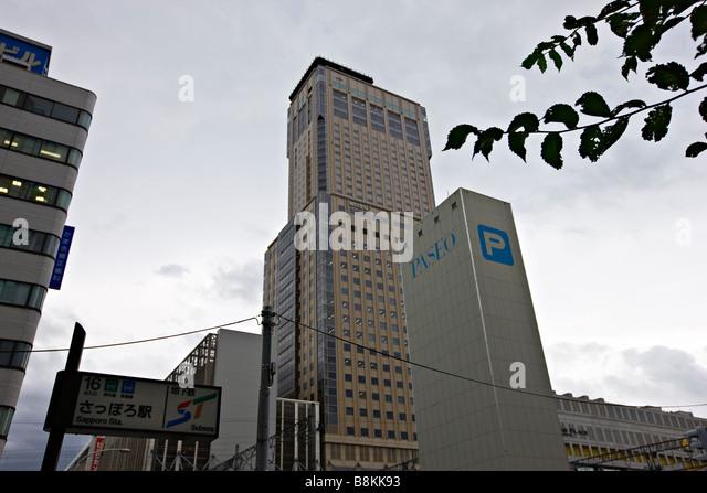 T38 Building in Sapporo, Hokkaido, Japan, Asia - Stock-Bilder