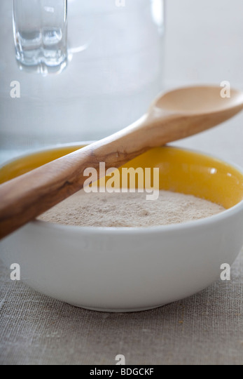WHITE CLAY - Stock Image