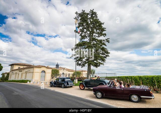 chateau Petrus, Pomerol, Bordeaux, France, EU, Europe - Stock Image