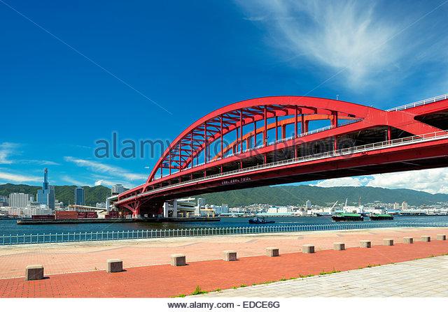 Oohashi Bridge - Stock Image
