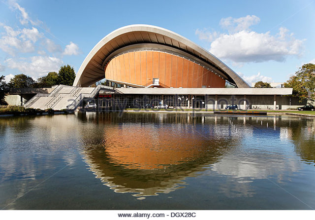 Centre house of the cultures of the world pregnant oyster berlin
