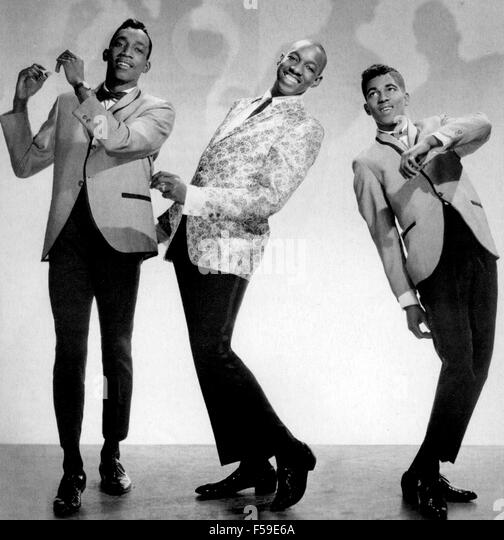 ALVIN CRASH Promotional photo of US group about 1955 - Stock Image