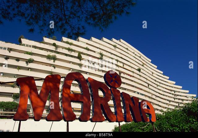 Marina, Baie des Anges, Alpes Maritimes, Provence, France, Europe - Stock Image