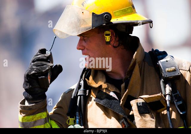 Fireman - Stock Image