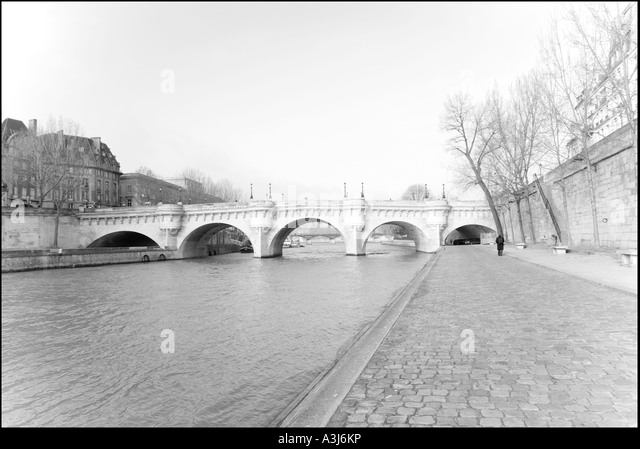 Le Pont Neuf, Paris, France - Stock Image