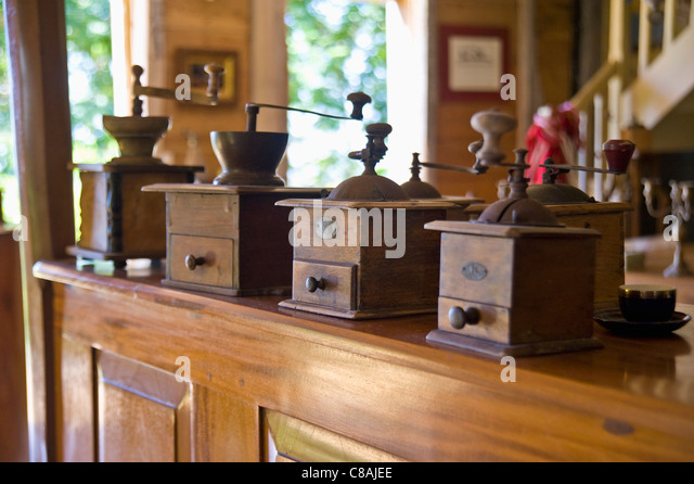 Coffee mills - Stock-Bilder